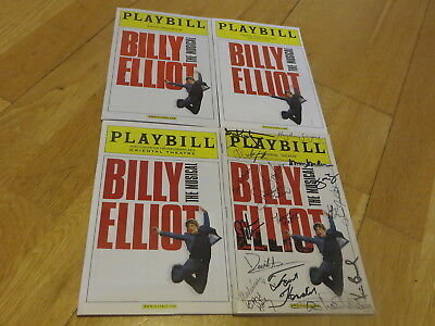 Billy Elliot New York 2008 (SIGNED by cast) + 3 Tours