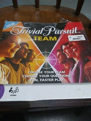 Trivial Pursuit Team Edition Trivia Family Adult Board Game