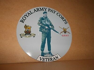 Royal Highland Fusiliers vinyl sticker personalised free..