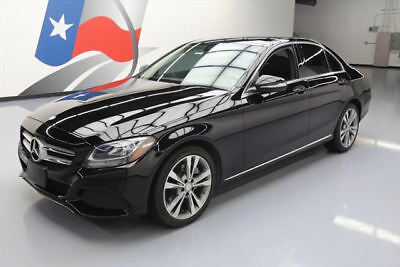 2015 Mercedes-Benz C-Class Base Sedan 4-Door 2015 MERCEDES-BENZ C300 SEDAN PANO ROOF REAR CAM 37K MI #092220 Texas Direct