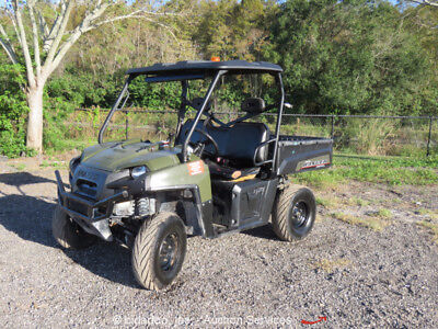 2014 Polaris Ranger Diesel 4WD Utility Vehicle UTV Diesel Dump Bed Side-By-Side