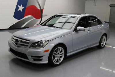 2013 Mercedes-Benz C-Class  2013 MERCEDES-BENZ C250 SPORT SUNROOF HTD SEATS 34K MI #252507 Texas Direct Auto