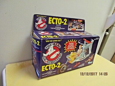 The Real Ghostbusters Ecto-2 EMPTY BOX  Kenner