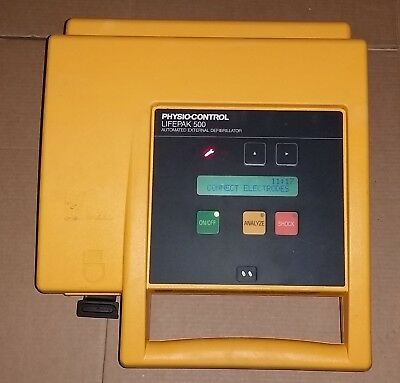 Medtronic Physio-Control LifePak  Life Pak 500 with battery medic-emt-fire