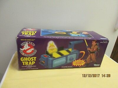 The Real Ghostbusters Ghost Trap EMPTY BOX  Kenner