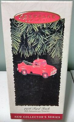 1995 Hallmark Keepsake Ornament 1956 Ford Truck All American Trucks #1