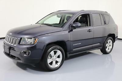 2015 Jeep Compass Altitude Sport Utility 4-Door 2015 JEEP COMPASS HIGH ALTITUDE 4X4 SUNROOF LEATHER NAV #217282 Texas Direct