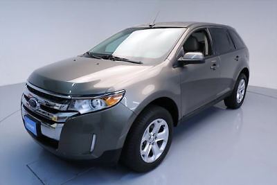 2014 Ford Edge SEL Sport Utility 4-Door 2014 FORD EDGE SEL HTD LEATHER NAV REAR CAM ALLOYS 38K #A42181 Texas Direct Auto