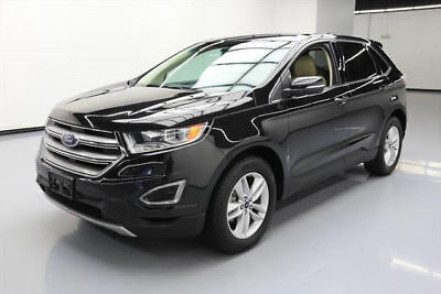2015 Ford Edge SEL Sport Utility 4-Door 2015 FORD EDGE SEL ECOBOOST HTD LEATHER REAR CAM 38K MI #C13066 Texas Direct