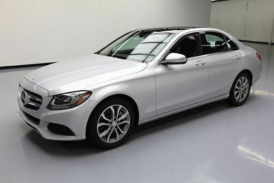 2015 Mercedes-Benz C-Class Base Sedan 4-Door 2015 MERCEDES-BENZ C300 PANO SUNROOF NAV REAR CAM 16K #094835 Texas Direct Auto