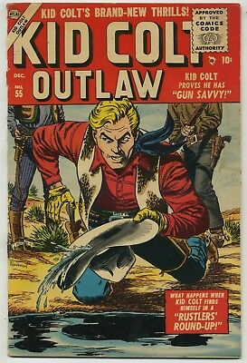 Kid Colt Outlaw 55 Early Issue!