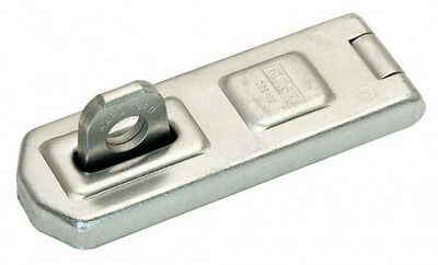 "CK KASP 230 SERIES 100mm (4"") UNIVERSAL HEAVY DUTY HASP AND STAPLE + FIXINGS"