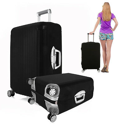 """Elastic Luggage Suitcase Cover Dustproof Protector Protective 22""""- 28"""" Bag"""