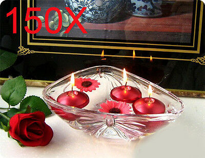 150X Wedding Party Light floating Red Water candle Wholesale Lots 150PCS