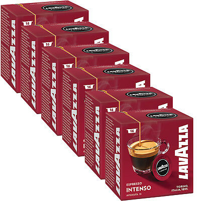 Lavazza A Modo Mio Espresso Intenso 96 Pods for Capsule Coffee Machine, Medium