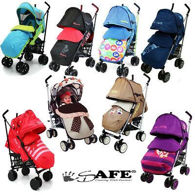 iSAFE Limited Edition Stroller,Buggy,Pushchair - Many Designs! + Bumper Bar