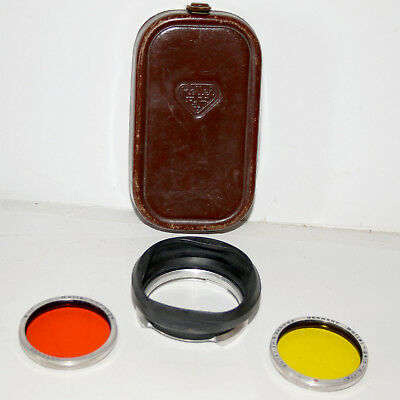 Rollei Bay 3 Rubber Lens Hood and Filter Kit - No reserve