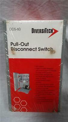 NEW Diversitech DDS-60 Pull-Out Disconnect Switch 60 Amp Fused Model UL