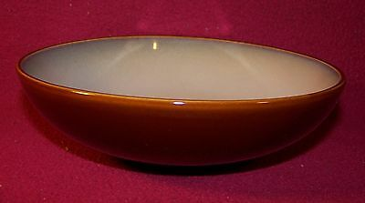 Gibson ~ Elite ~ Beige With Dark Brown Trim ~ Coupe Soup / Cereal Bowl 6 3/4""