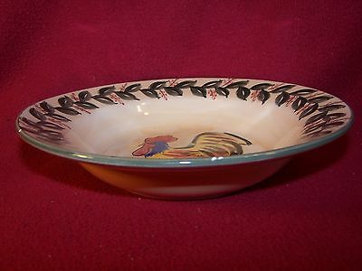 Tabletops Gallery ~ Hollester ~ Rimmed Soup / Cereal Bowl 8 1/8""