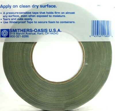 "1/4"" Green Waterproof Tape -60 yard roll- Oasis Floral Products"