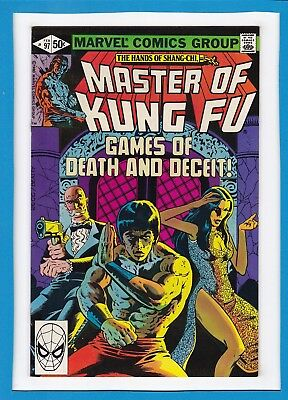 The Hands Of Shang-Chi, Master Of Kung-Fu #97_February 1981_Vf_Bronze Age!