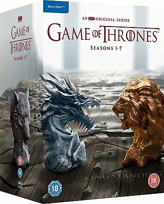 Game of Thrones - Season 1-7 [Blu-ray Set Complete Collection GoT, Region Free]