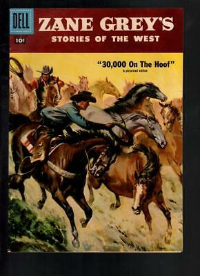 Zane's Grey's Stories of The West #34 FN+ 6.5 Dell Silver Age Western 1957!!!