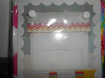 "MiGi Rainbow Window Valances 15"" H X 44"" L"