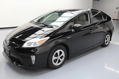 2014 Toyota Prius  2014 TOYOTA PRIUS THREE HYBRID NAV REARVIEW CAM 32K MI #360093 Texas Direct Auto