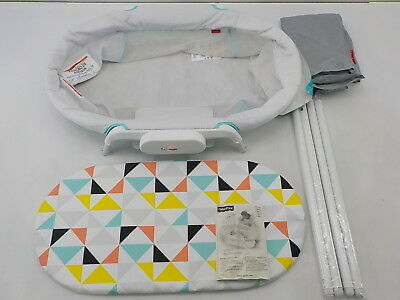 Fisher-Price FBR72 - Stow n Go Bassinet - White