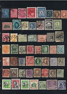 Selection Of Old World Stamps.