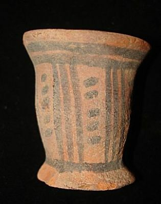 Best!  Authentic Ancient Painted Jug! From Early Bronze Age! 3000Bc