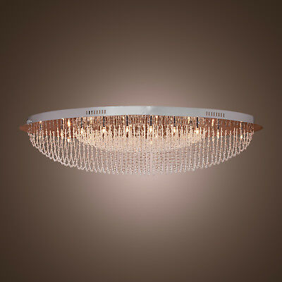 Modern LED Crystal Chandelier Ceiling Light Fixture Lamps Living Dining Room NEW
