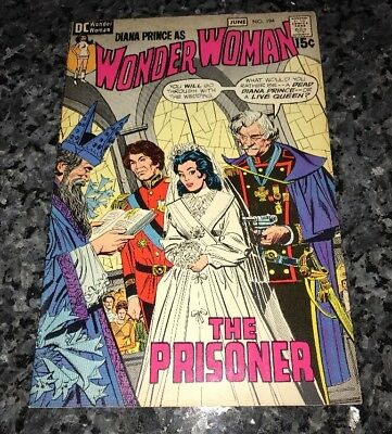 Awesome Wonder Woman #194 Bronze Age Issue See My Many Others!!