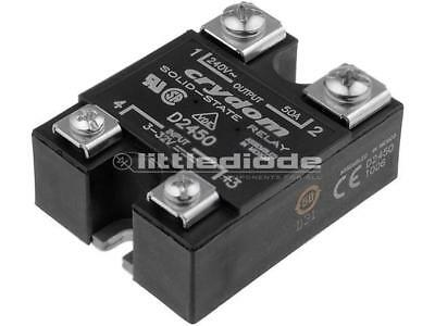D2450 Relay solid state Ucntrl3-32VDC 50A 24-280VAC Series1-DC CRYDOM