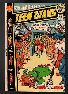 Teen Titans #39 VF- 7.5 DC Bronze Age Giant 1972 Hawk and The Dove!!!