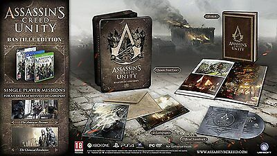 Xbox One Game Game Assassin's Creed Unity - Bastille Edition NEW MERCHANDISE