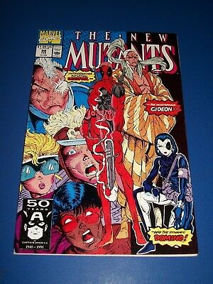 New Mutants #98 1st Deadpool Awesome Key Issue VF Beauty Wow