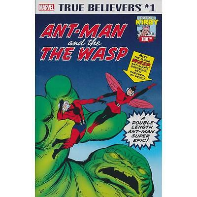 True Believers Kirby 100th Antman & the Wasp 1, Tales to Astonish 27 and 44