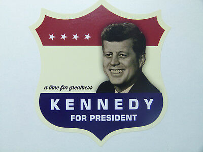 Kennedy President Oldschool Aufkleber USA Vintage Sticker Muscle Car V8 Retro
