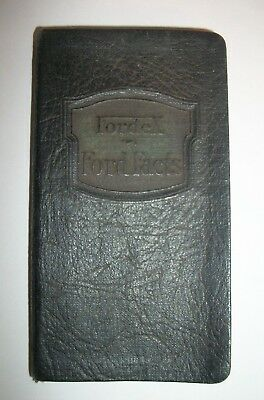 "RARE 1924 FORD Model T ""Fordex Ford Facts"" Salesman's Facts Data Book"