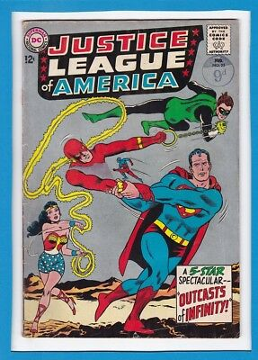 """Justice League Of America #25_Feb 1964_Vg/f_""""outcasts Of Infinity""""_Silver Age!"""
