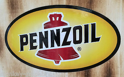 USA Oldschool Aufkleber Pennzoil Sticker Chevy Dodge Plymouth Ford Rockabilly