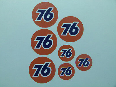 "USA V8 Car Ratrod / Retro / Oldschool Sticker "" Set Union 76  "" Auto  Aufkleber"