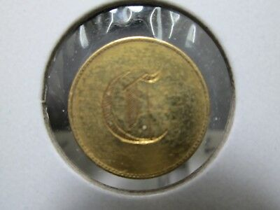 Fancy C Love Token 1 Dollar Liberty Gold Coin In Fine Condition