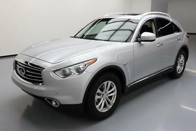 2016 Infiniti QX70 Base Sport Utility 4-Door 2016 INFINITI QX70 PREMIUM SUNROOF NAV HTD SEATS 38K MI #670160 Texas Direct