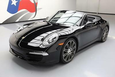 2016 Porsche 911 Carrera 4 Convertible 2-Door 2016 PORSCHE 911 CARRERA BLACK EDITION CONVERTIBLE 4K #141225 Texas Direct Auto