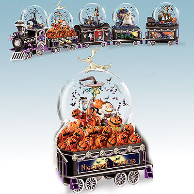 Carving Out Some Mischief Water Globe Train 2 Only Nightmare Before Christmas