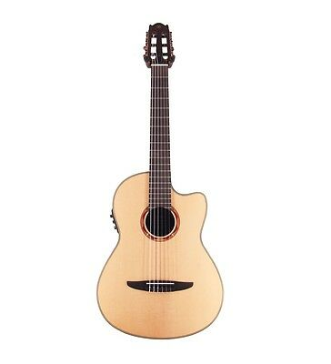 Yamaha Ncx900Fm Solid Top Classical Nylon String Electric Acoustic Guitar